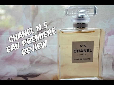 All About Chanel Number 5 Eau Premiere Fragrance Lusterings Youtube