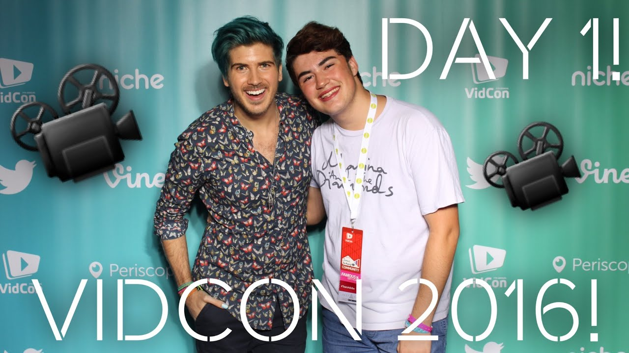 Vidcon 2016 day 1 meeting joey graceffa again youtube m4hsunfo