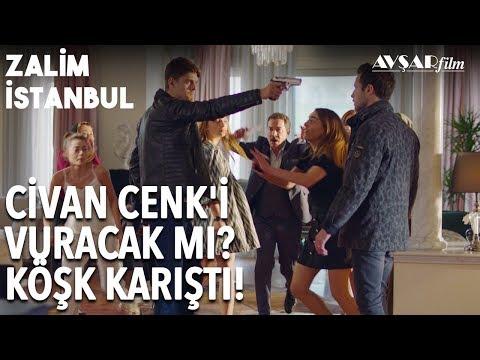 Bebeğin Babası Cenk! Civan Cenk'e Silah Çekti, Köşk Karıştı! | Zalim İstanbul 17. Bölüm