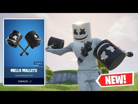 NEW MELLO MALLETS Gameplay In Fortnite!