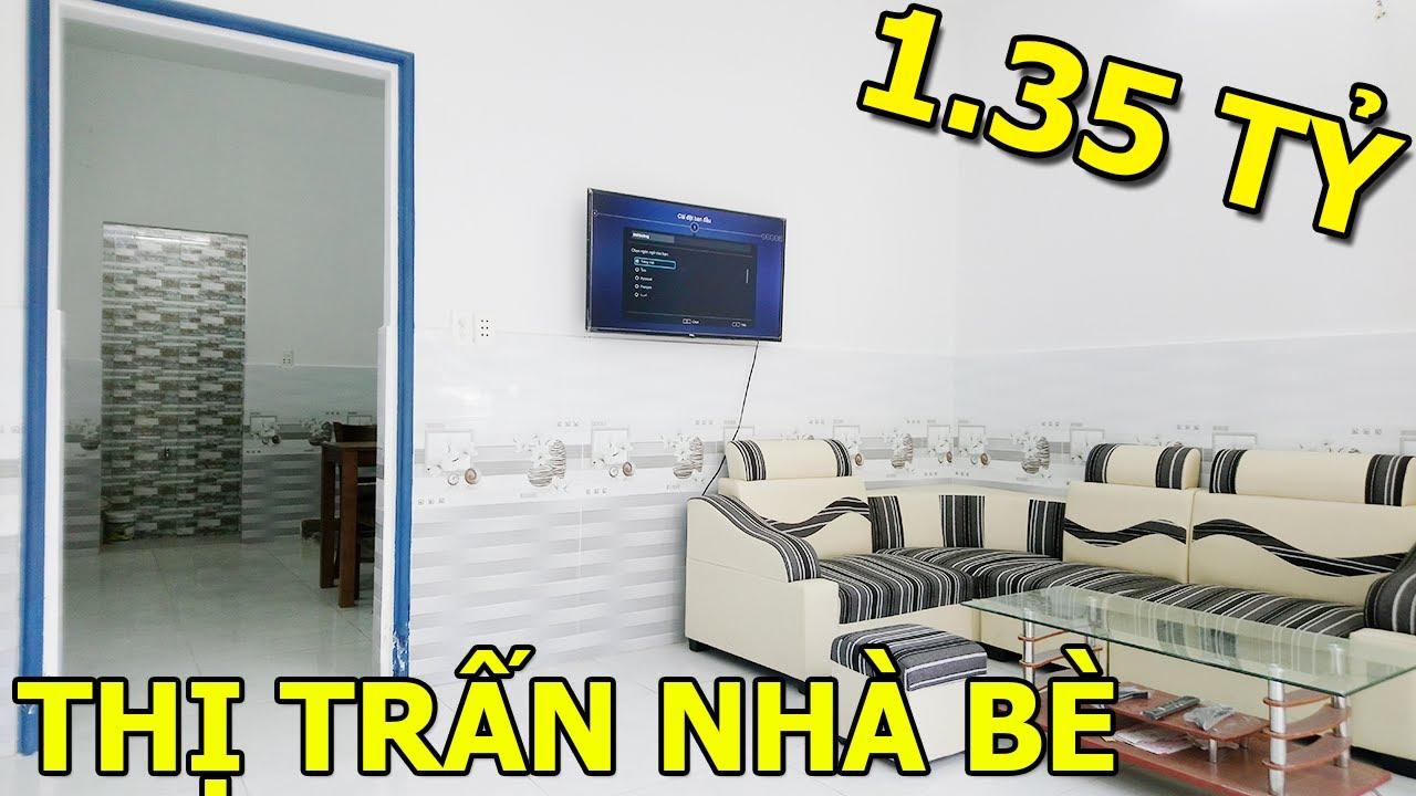 Bán nhà Thị Trấn Nhà Bè 2056 Huỳnh Tấn Phát 4×9 1 Lầu Chỉ 1 tỷ 350 Tặng Toàn Bộ Nội Thất.