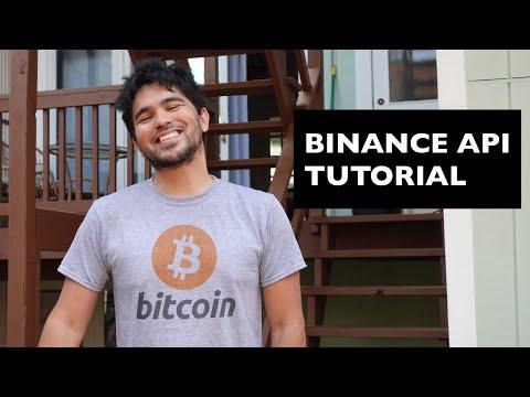 Binance API Tutorial (Part 1) - Crypto Trading Bot Design