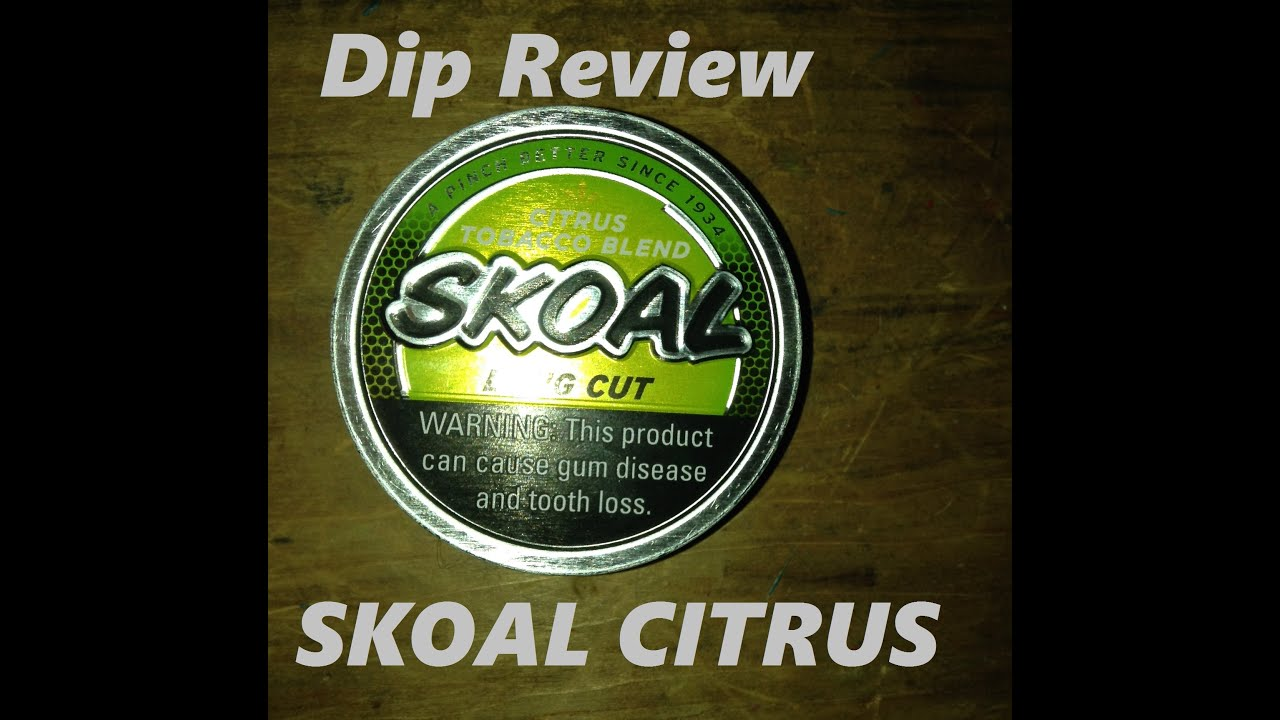 skoal citrus review wisconsin