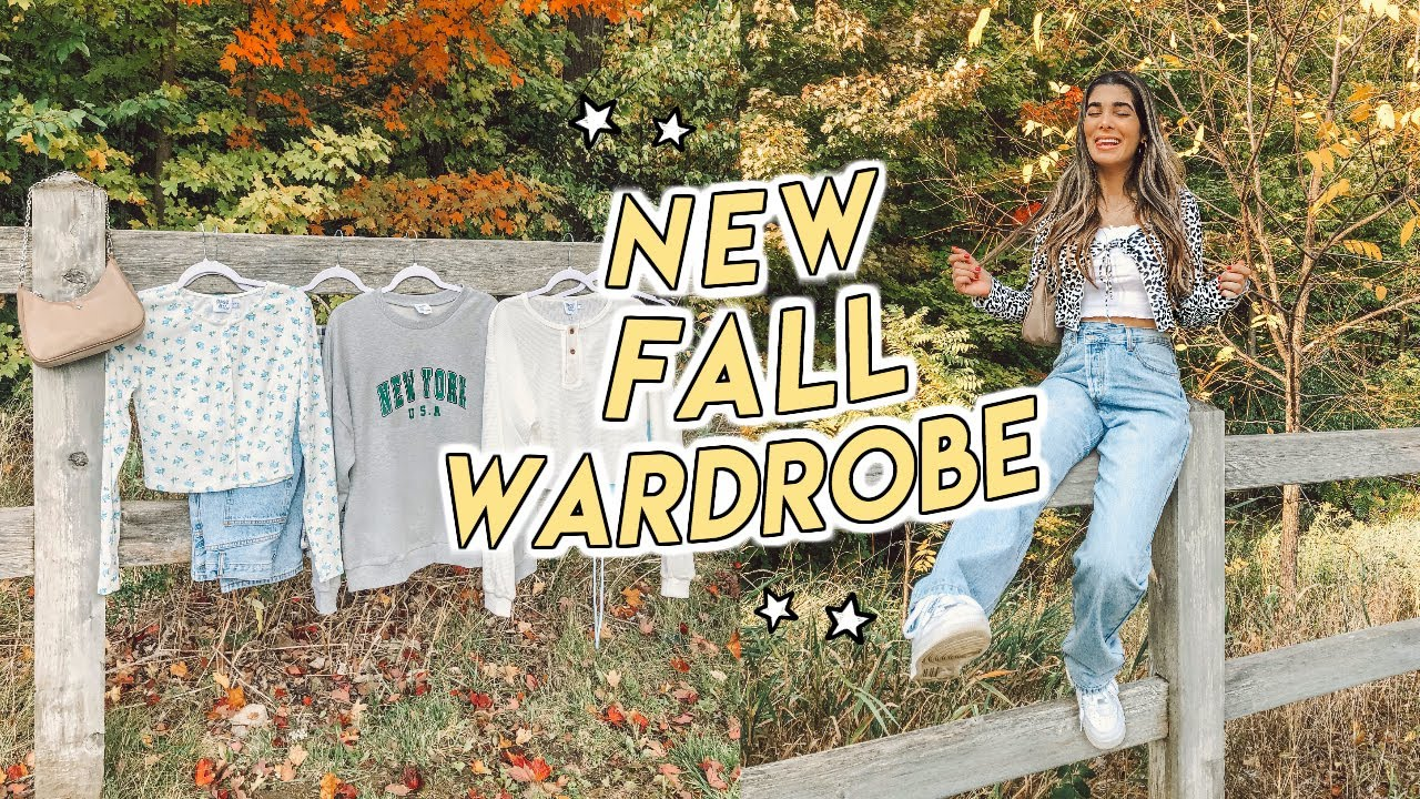 FALL CLOTHING HAUL ☆ plaid pants, cropped cardigans, sweaters + more fall basics!