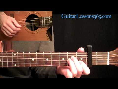 The Beatles - Julia Acoustic Guitar Lesson Pt.1 - Verse & Chorus