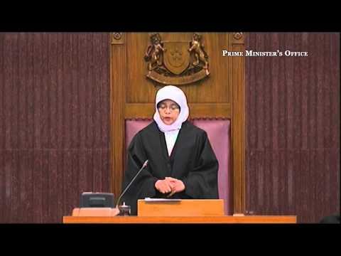 Mdm Halimah Yacob: Special Parliamentary Sitting