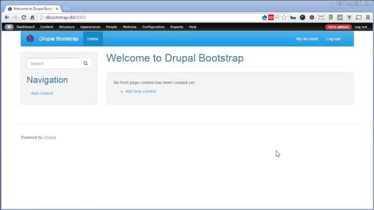 drupal bootstrap theming tutorial