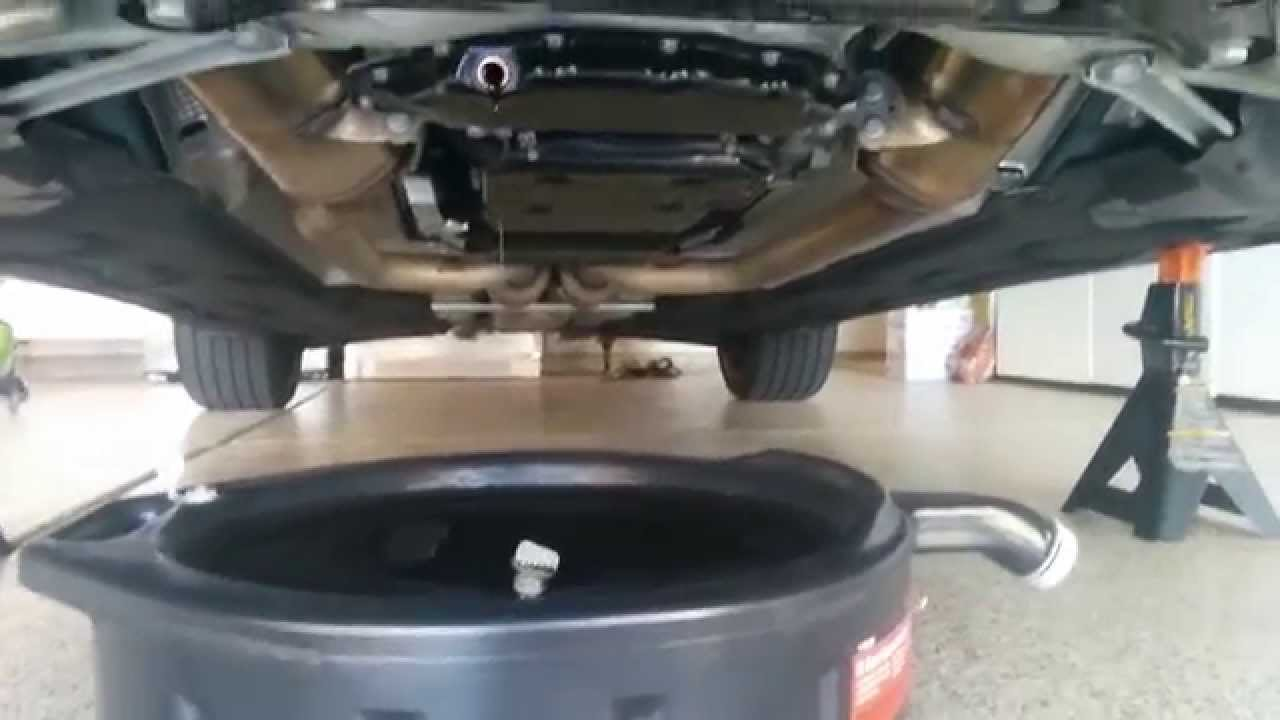 2013 mercedes e350 engine oil drain plug location youtube for How much is oil change for mercedes benz