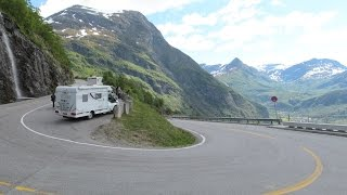 Norway: Fv. 63 Ørnevegen - The Eagle Road (Geiranger)