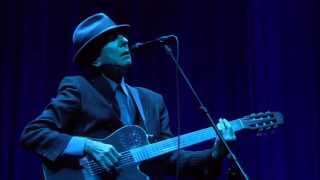 "Leonard Cohen : ""Famous Blue Raincoat"" (London 2008)"