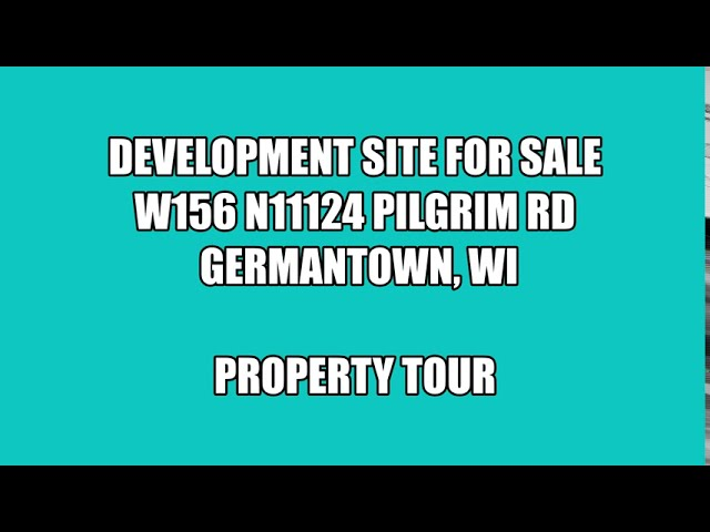 W156 N11124 Pilgrim Road - Germantown, Wisconsin (PARADIGM Virtual Tour)