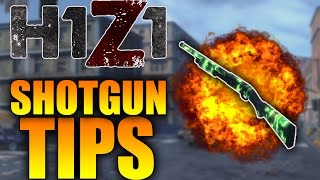 H1Z1 BEST SHOTGUN TIPS! SHOTGUN AIM GUIDE TUTORIAL,  HOW TO GET MORE SHOTGUN KILLS IN H1Z1! (KOTK)