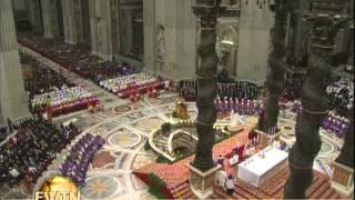 Ash Wednesday from Rome- 2013-02-13-  Pope Benedict XVI