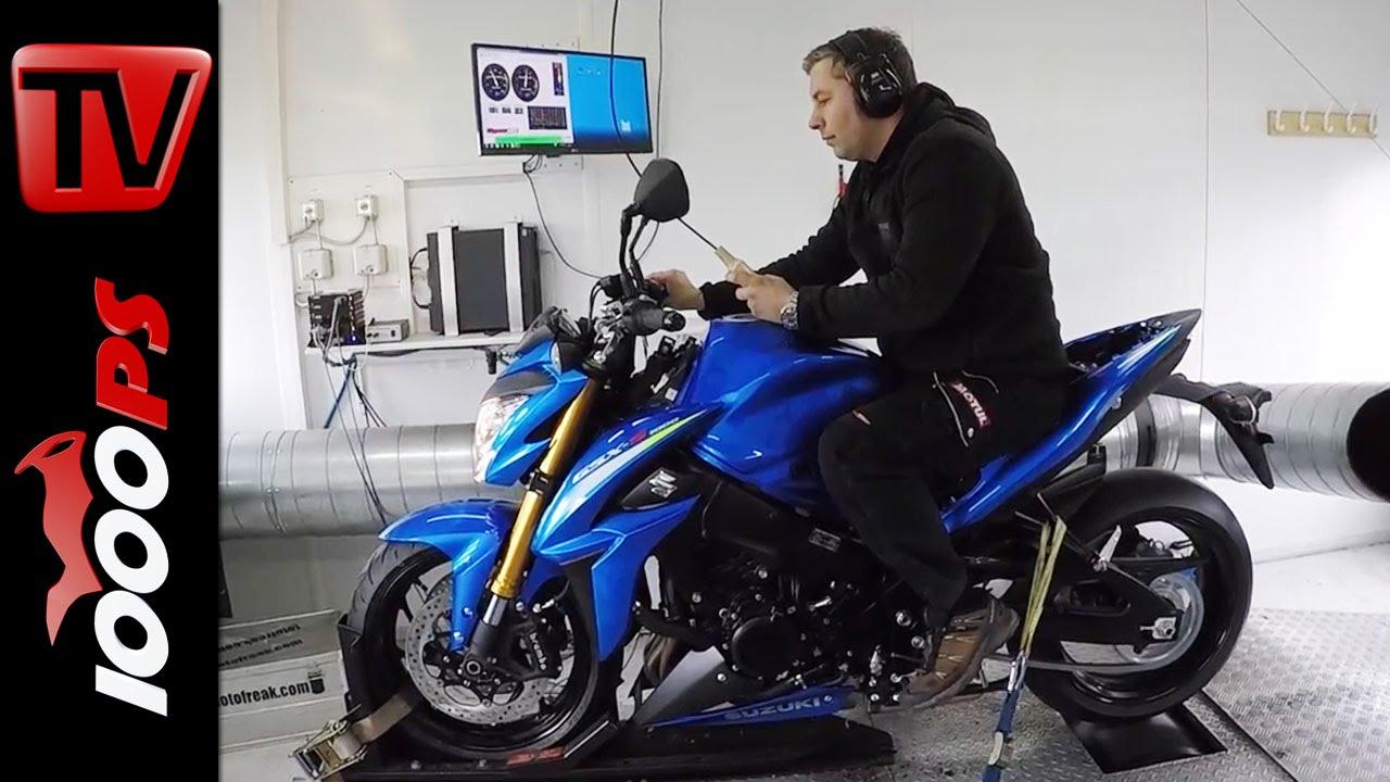 Suzuki Gsx S1000 Am Prufstand Dyno Leistungsdaten Youtube