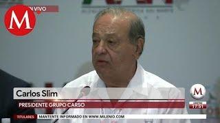 EU debe ver al futuro y no al pasado: Carlos Slim