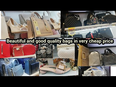Cheap shopping in dubai | Beautiful and good quality bags in very normal price | huge collection