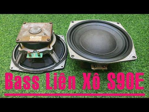 Phục Hồi Loa Bass Liên Xô, Loa Nga S90E