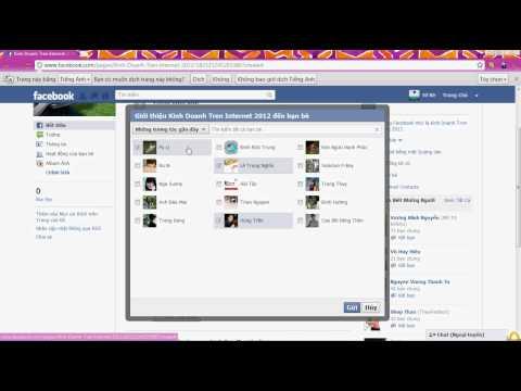 Cách tạo Fanpage trên Facebook (hoithao.org).avi