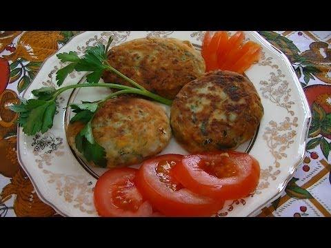 Овощные котлеты - простой рецепт