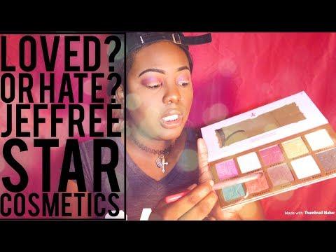 Jeffree Star Cosmetics   Review & Swatch: Skin Frost Shade Dark Horse   Beauty Killer Palette.