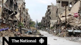 Cbc news was granted rare access inside war-torn syria. accompanied by the syrian government, reporter margaret evans takes us refugee camp of yar...
