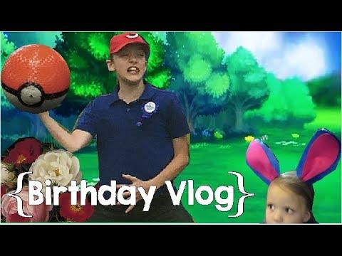 Trainers Vs. Pokemon ║ Judah's 12th Birthday │ Large Family Vlog