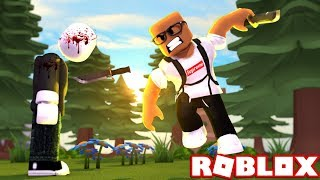 KILLING EVERYBODY IN ROBLOX - Simulateur de couteau Roblox)