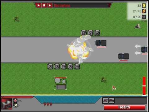 Защита башенки (стратегия, флэш игра)