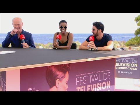 Samira Wiley, Darren Criss & Neal McDonough at MonteCarlo Television Festival