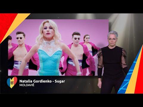 Natalia Gordienko - Sugar | Moldavië ?? | Sign dance | ESC21