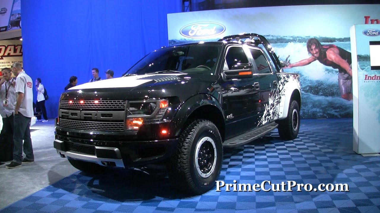 2014 Ford Raptor  SEMA Car Show  YouTube
