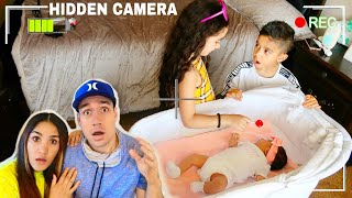 WE CAUGHT THE KIDS DOING THIS...* UNEXPECTED* | Jancy Family