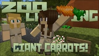 Zoo Crafting: Side Quest! Giant Carrots & Rabbit Keepers!