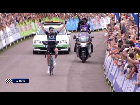 Tour of Britain: Stage 3 - Highlights