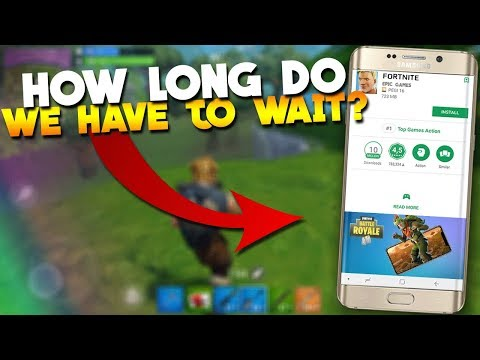 Fortnite Mobile Android Release Date + Record Gameplay!