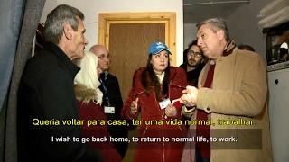 Síria: Alto Comissário das Nações Unidas para Refugiados visita a devastada Homs