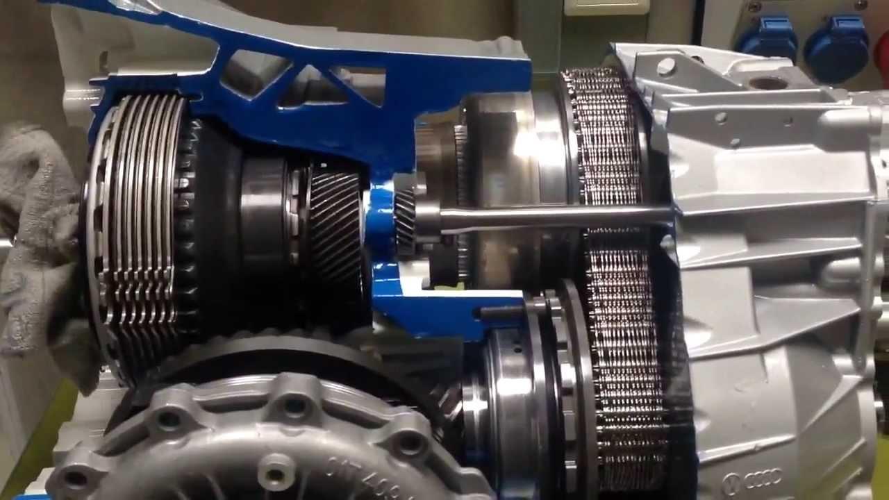 Audi Multitronic Gearbox Model Youtube