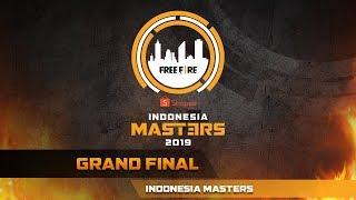 [2019] Free Fire Shopee Indonesia Masters | Grand Final