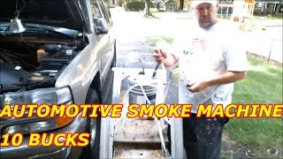 AUTOMOTIVE HOMEMADE SMOKE MACHINE 10 BUCKS