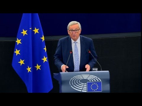 Juncker says 'wind is back in Europe's sails'