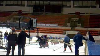 Съемки фильма о советском хоккее. Легенда № 17. 2011. 2012