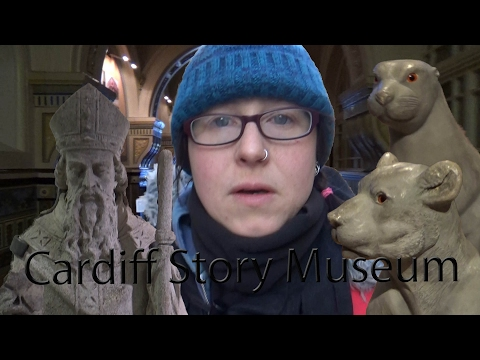 Cardiff Story Museum with Imo