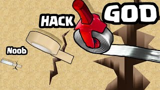 TAPING with the STRONGEST STICKY GUN in Tape Puzzle