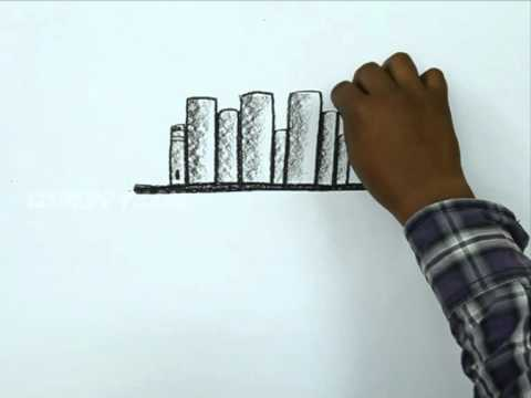 How to Draw a Books In Stand