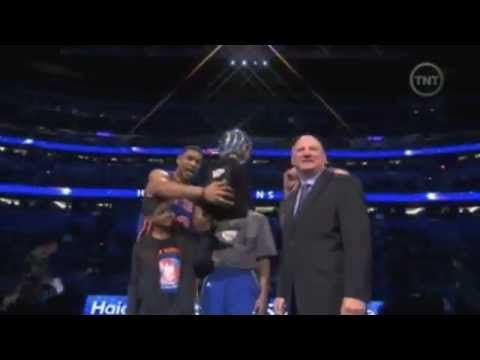 NBA All Star Weekend - NY Knicks Win Haier Shooting Stars title  2-25-2012