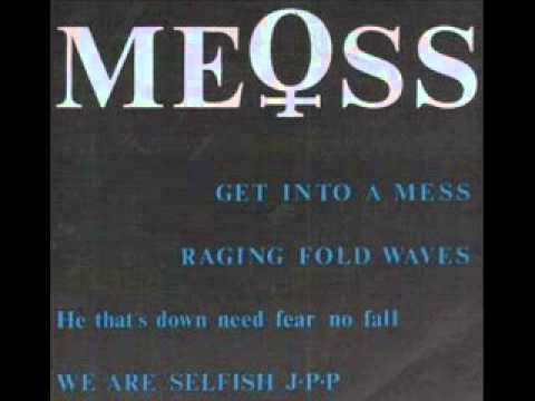 ME♀SS:he that down need fear no fall/we are selfish j.p.p (1986.hardcore punk japan)