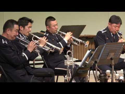 航空自衛隊航空中央音楽隊 金管アンサンブル(10重奏) A Londoner in New York ジム・パーカー