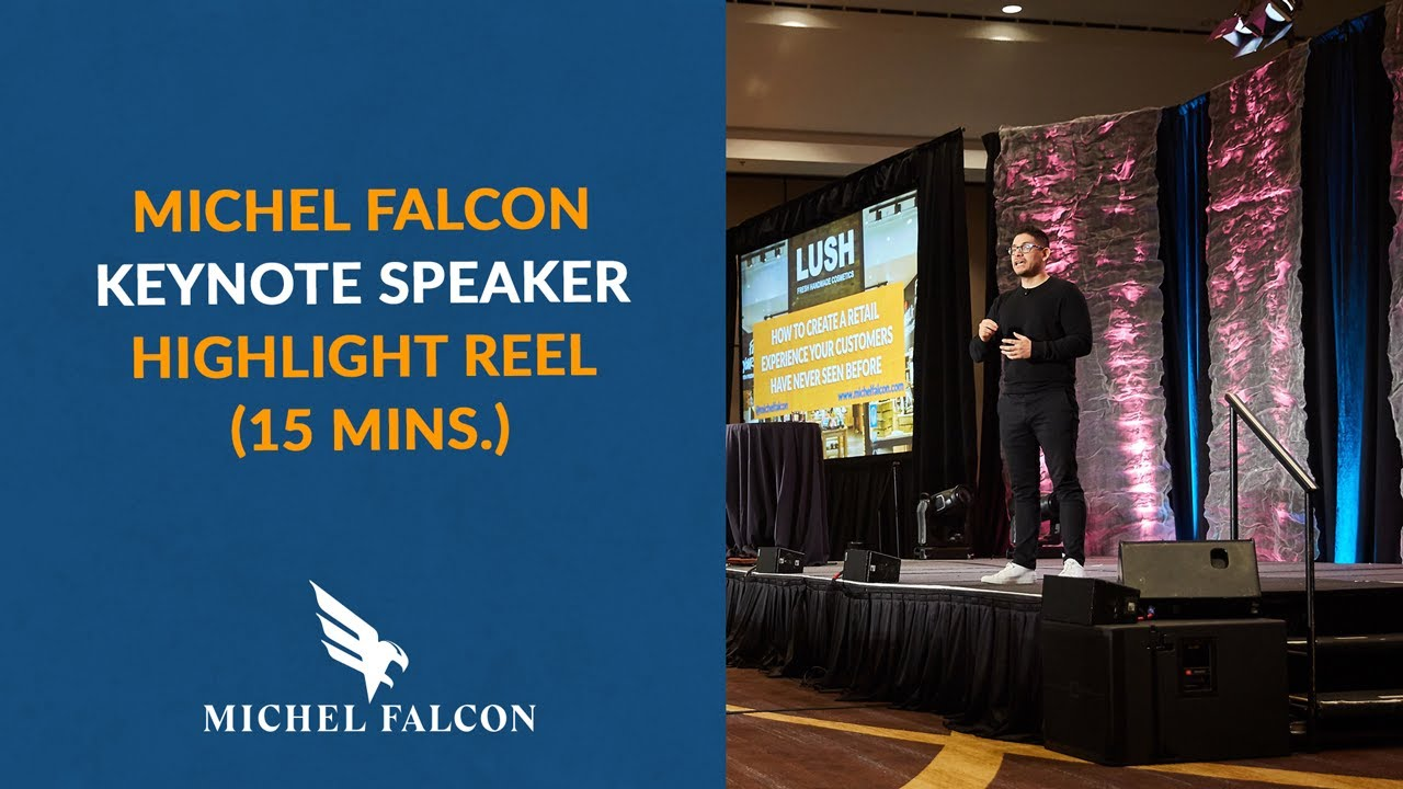 Michel Falcon   Customer Experience Speaker   Speakers Bureau
