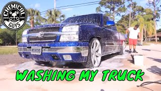 SPECIAL WASH FOR MY TRUCK