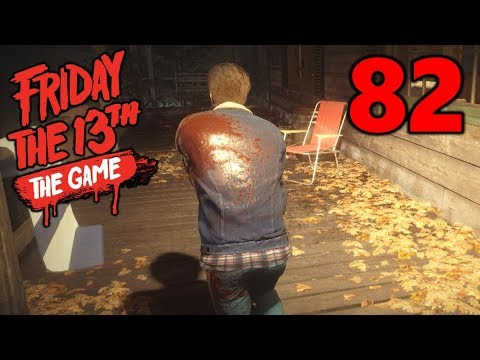 [82] The Great Tommy Escape! (Let's Play Friday The 13th The Game)